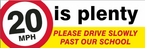 Road Safety banner  - Template 3